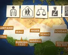 4ème – Les inégalités régionales au Mali (croquis)