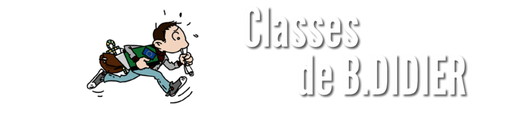 HG 2.0 - Classes de B.DIDIER
