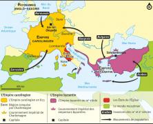 Histoire . S6 . Deux Empires chrétiens au Moyen-Âge