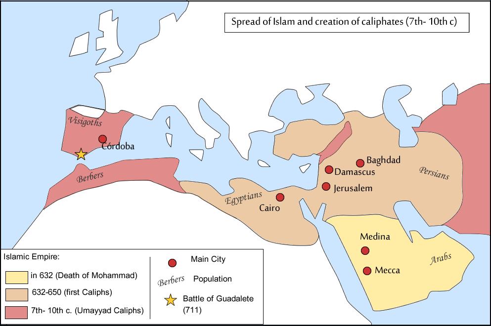 Islam territory