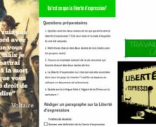 4ème – La liberté d'expression